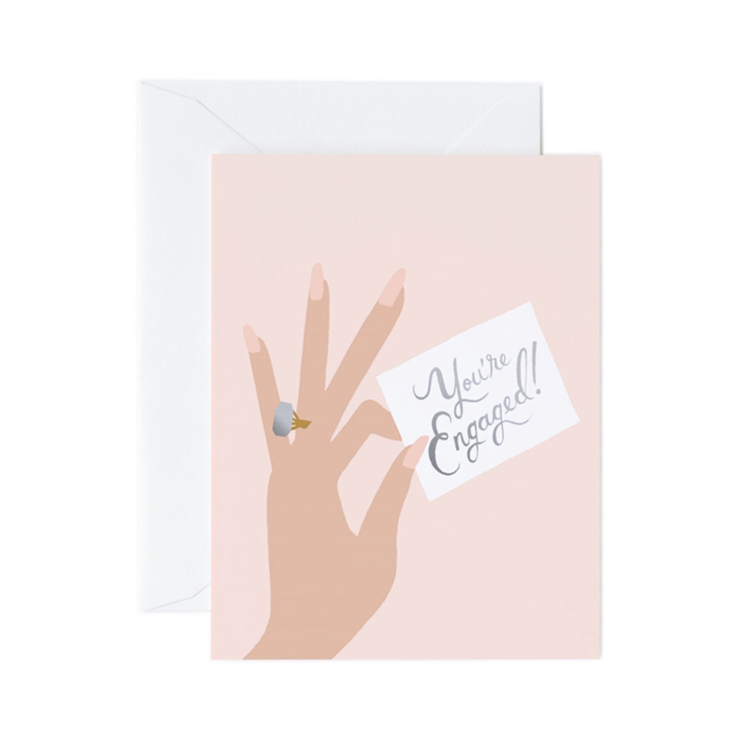 [Rifle Paper Co.] You're Engaged Card
