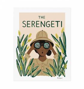[Rifle Paper Co.] Serengeti 18 x 24