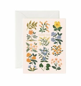 [Rifle Paper Co.]Wildwood Thank You Card