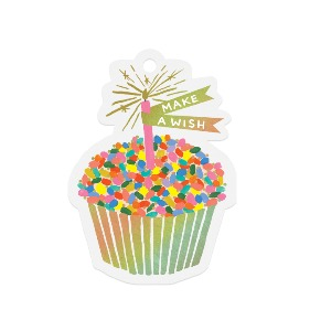 [Rifle Paper Co.] Cupcake Die-Cut Gift Tag