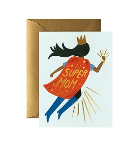 [Rifle Paper Co.] Super Mom Blue Card