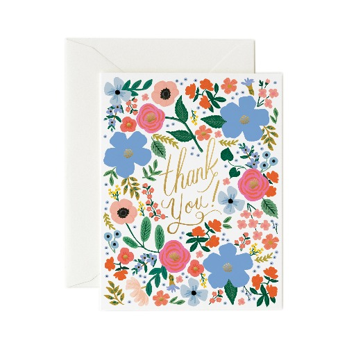 [Rifle Paper Co.] Wild Rose Thank You Card