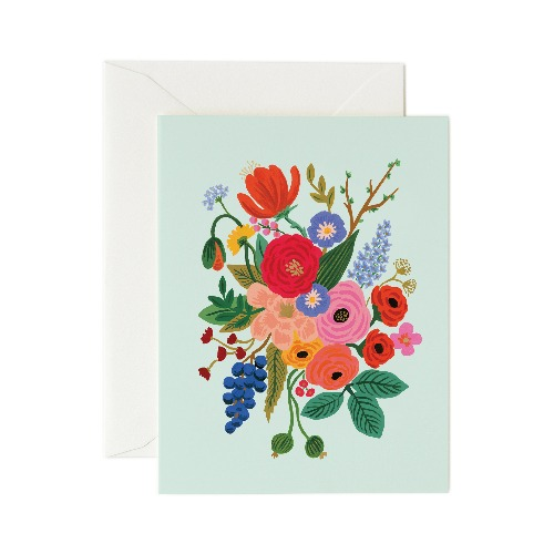 [Rifle Paper Co.] Garden Party Mint Card