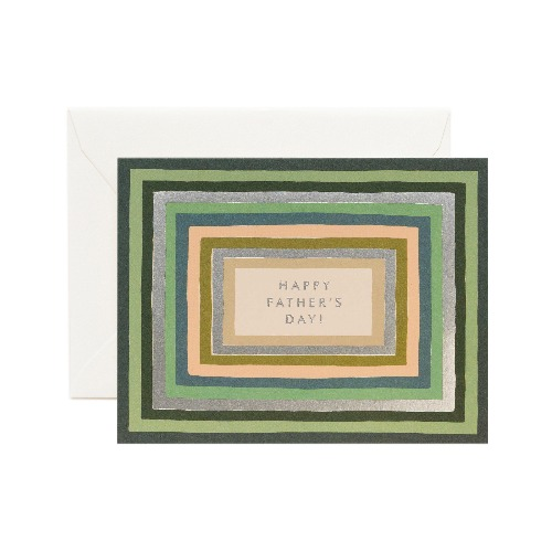 [Rifle Paper Co.] Striped Father's Day Card