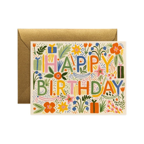 [Rifle Paper Co.] Fiesta Birthday Card
