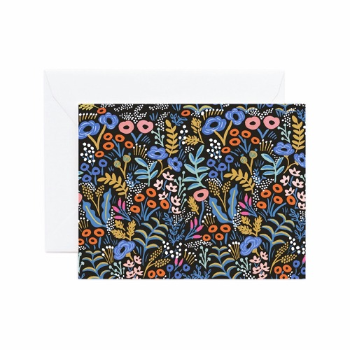 [Rifle Paper Co.] Tapestry Black Card