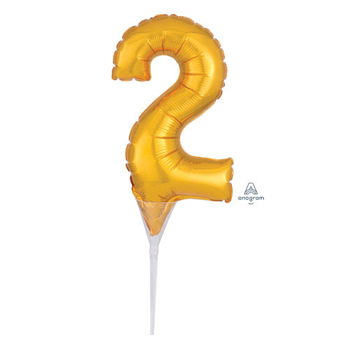 [Anagram] Cake Picks Number 2 Topper