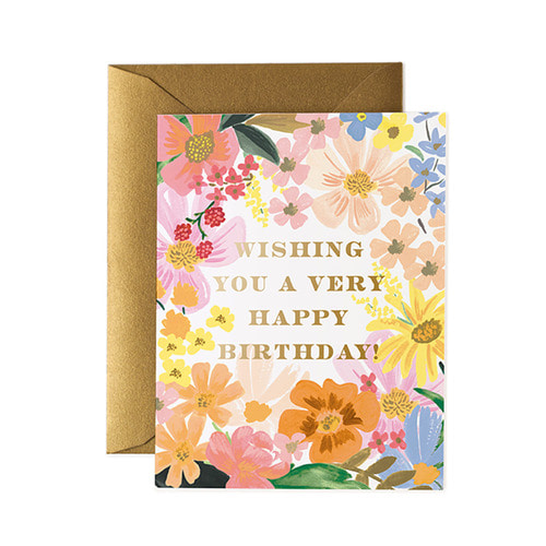 [Rifle Paper Co.] Marguerite Birthday Card 생일 카드