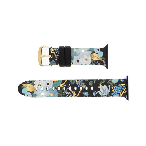 [Rifle Paper Co.] Garden Party Blue Apple Watch Band