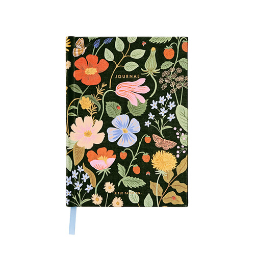 [Rifle Paper Co.] Strawberry Fields Fabric Journal