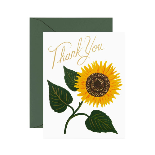 [Rifle Paper Co.] Sunflower Thank You 감사 카드
