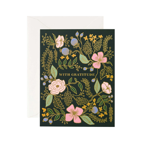 [Rifle Paper Co.] With Gratitude Card 감사 카드