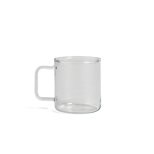 [HAY] Glass Coffee Mug M Clear